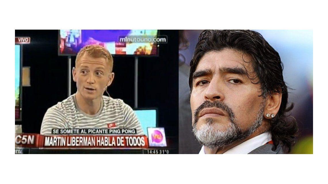 Martín Liberman arremetió contra el Diez: Maradona me traicionó