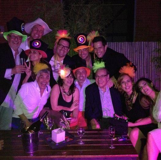 Las fotos del desopilante cumpleaños de 40 de Florencia Peña con amigos y amor
