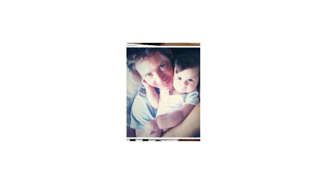 Los amo fuerte: el mensaje y las fotos del amor de Adrián Suar con su hija Margarita