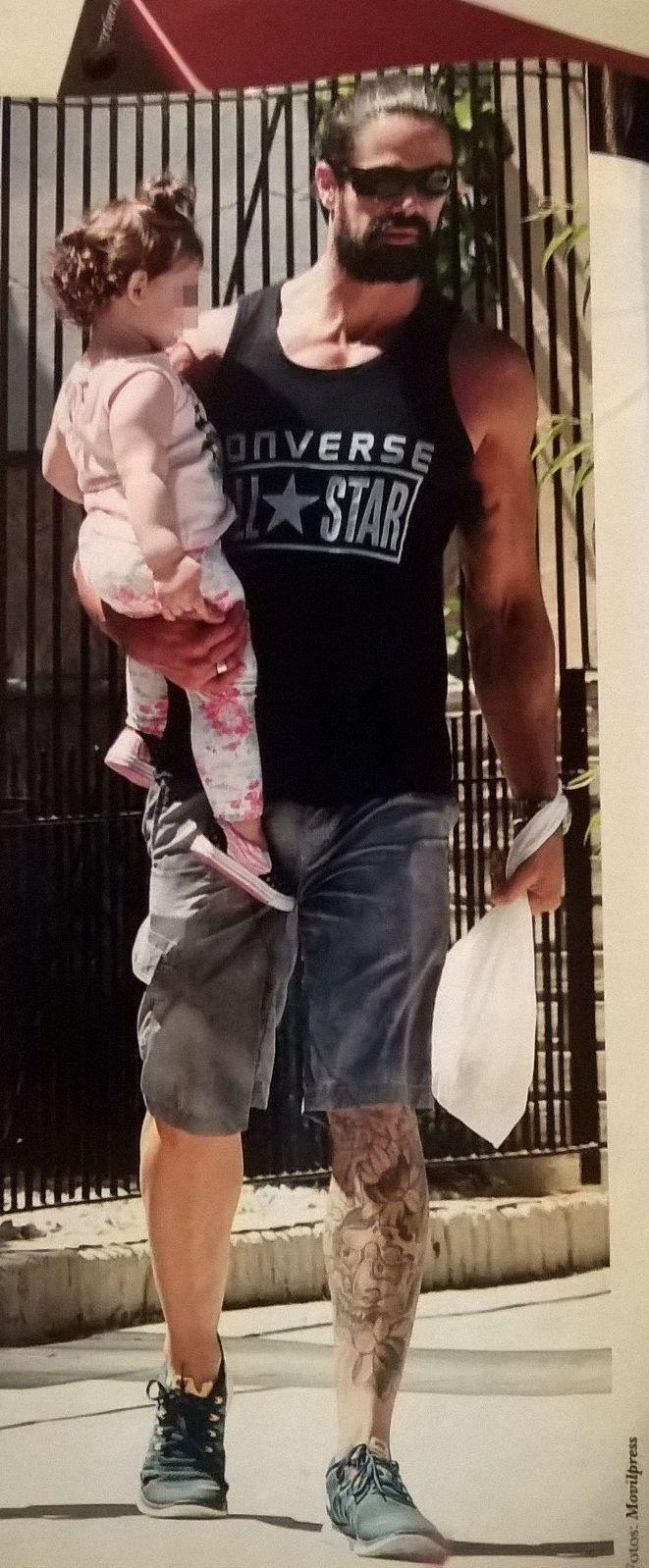 La dulce espera de Sabrina Rojas y Luciano Castro: embarazados de siete meses, pasean con Esperanza