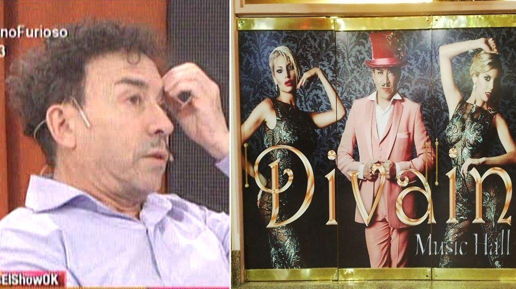 Escándalo en Divain: entradas regaladas, pancartas, gritos y la furia de Aníbal Pachano