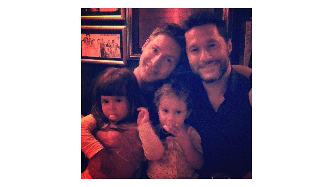 Adrián Suar y Diego Torres, con Margarita y Nina: ¿Quién diría que estos dos bandidos terminaríamos así?