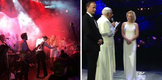 La intimidad del casamiento de Jésica Cirio y Martín Insaurralde: Los Auténticos Decadentes, Agapornis y el Papa Francisco