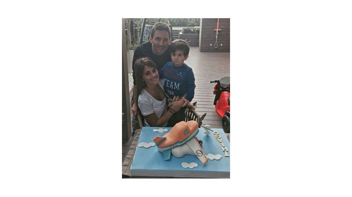 Lionel Messi y Antonella Roccuzzo festejaron los 2 años de Thiago: Todo cambió cuando llegó a nuestras vidas