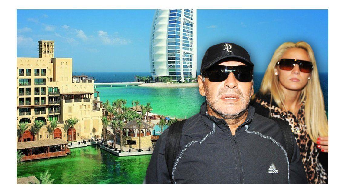 Rocío Oliva viaja a Dubai con la palabra de Diego Maradona: ¿Qué pasará cuando llegue?