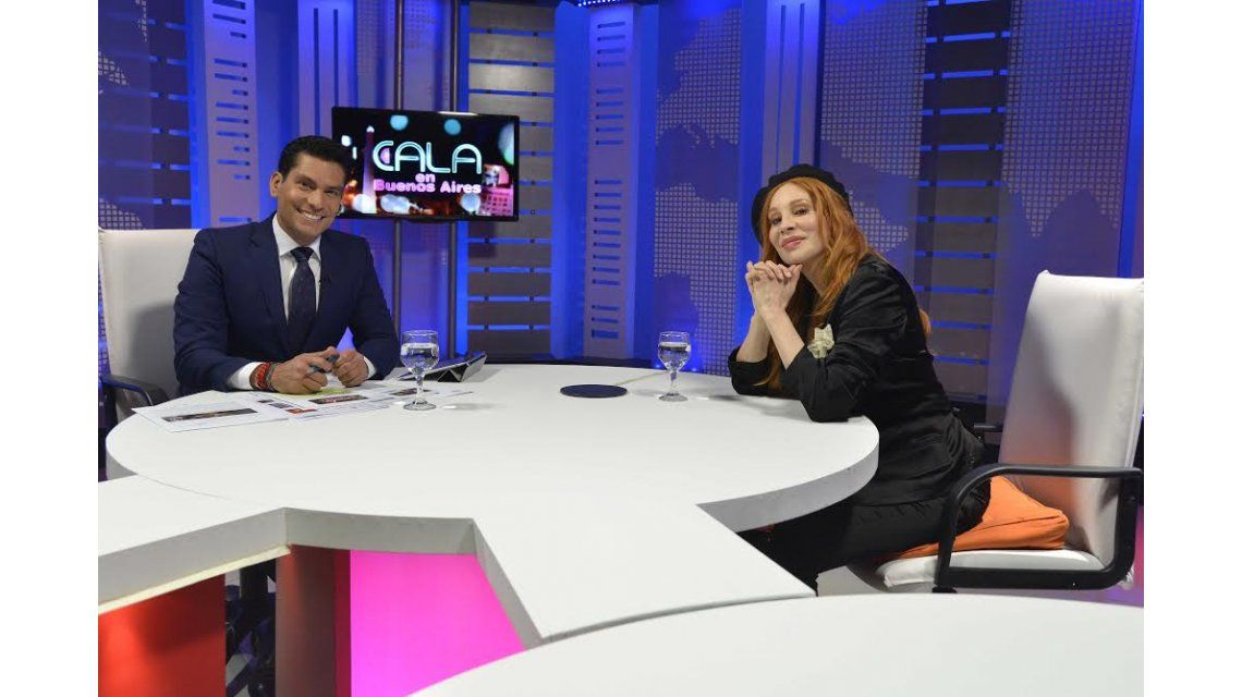 La agenda de Cala en Buenos Aires: entrevistó desde Nacha Guevara a Elena Roger