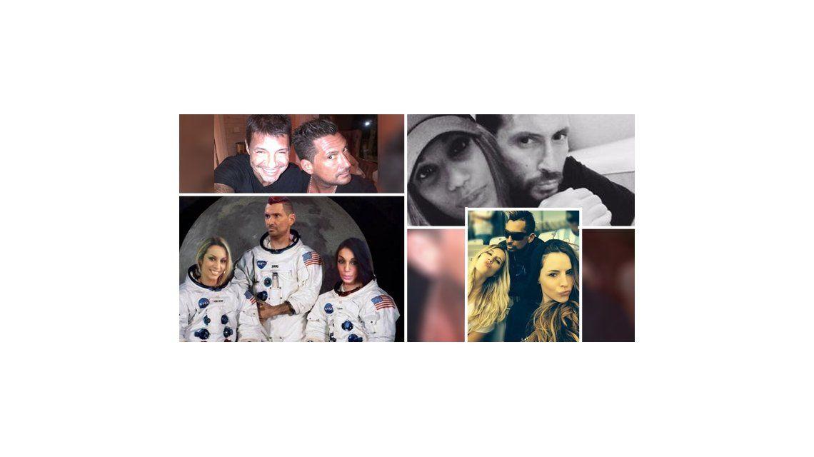 Los días del Tirri después de su internación: selfies románticas y súper familiero