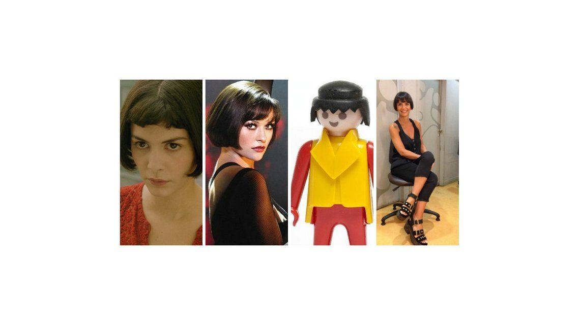 ¿Amelie, Chicago o Playmobil? La reacción de Amalia Granata con las comparaciones de su look