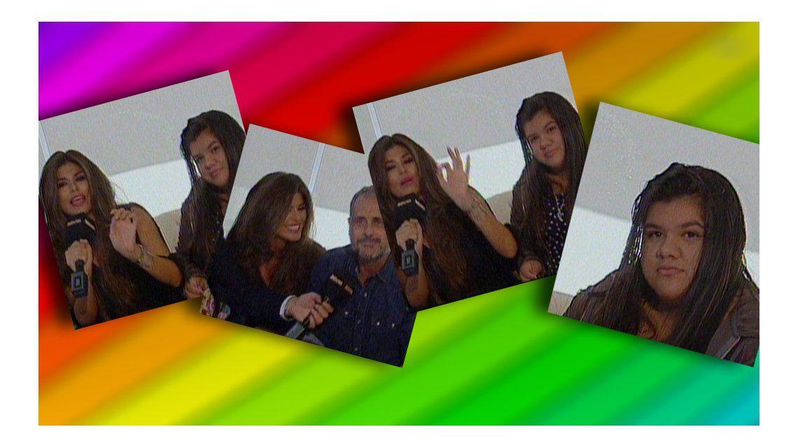 La familia unida: Loly Antoniale dio un móvil en TV; primero se sumó Morena y después Jorge Rial