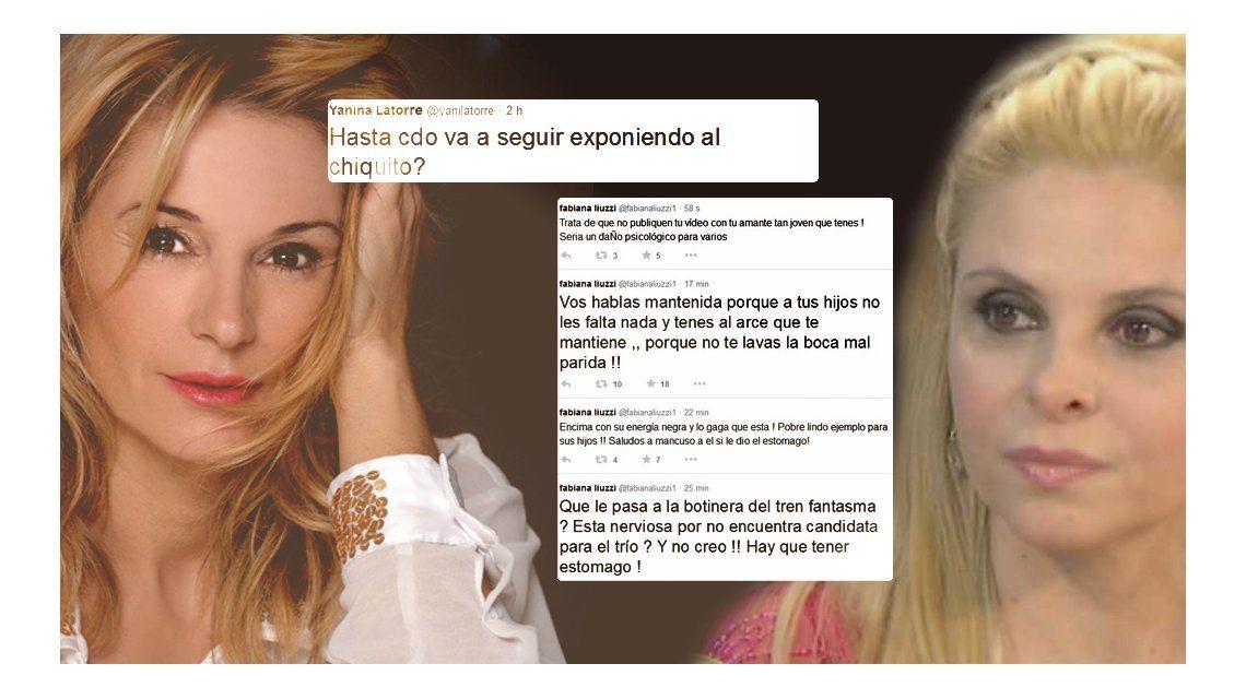 Yanina Latorre criticó a Fabiana Liuzzi y ella la mató en Twitter: botinera mal parida