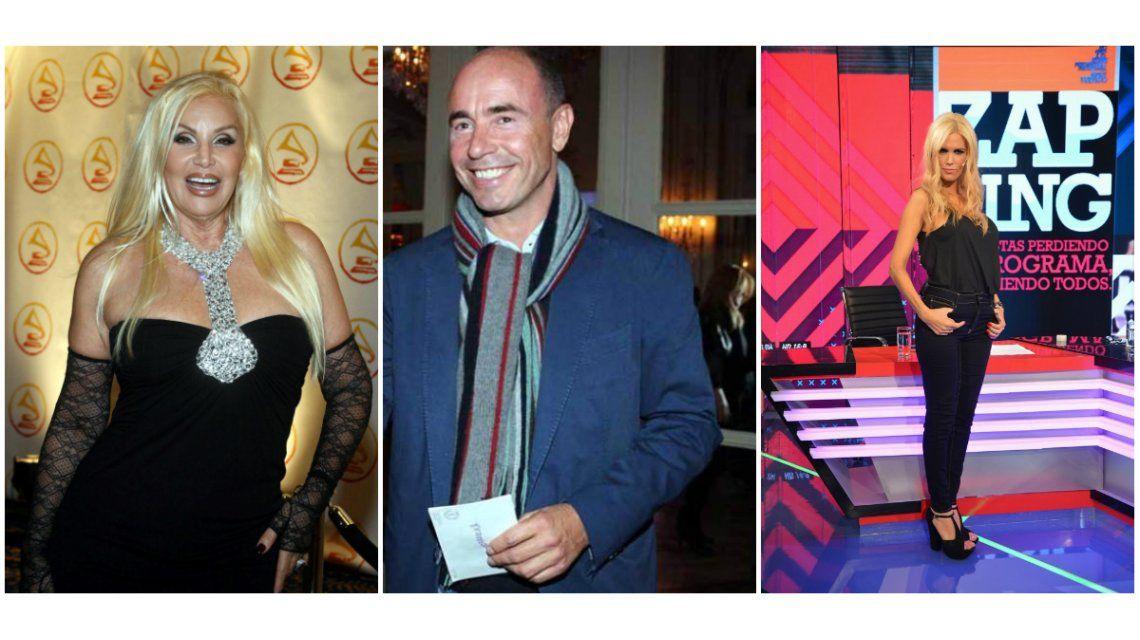 El ex de Viviana Canosa, Bruno Barbier, candidato para Susana Giménez