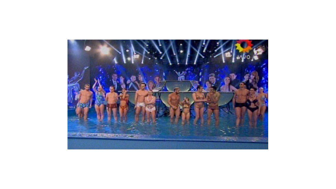 Seis parejas sentenciadas en el Aquadance, entre ellas las virtuosas
