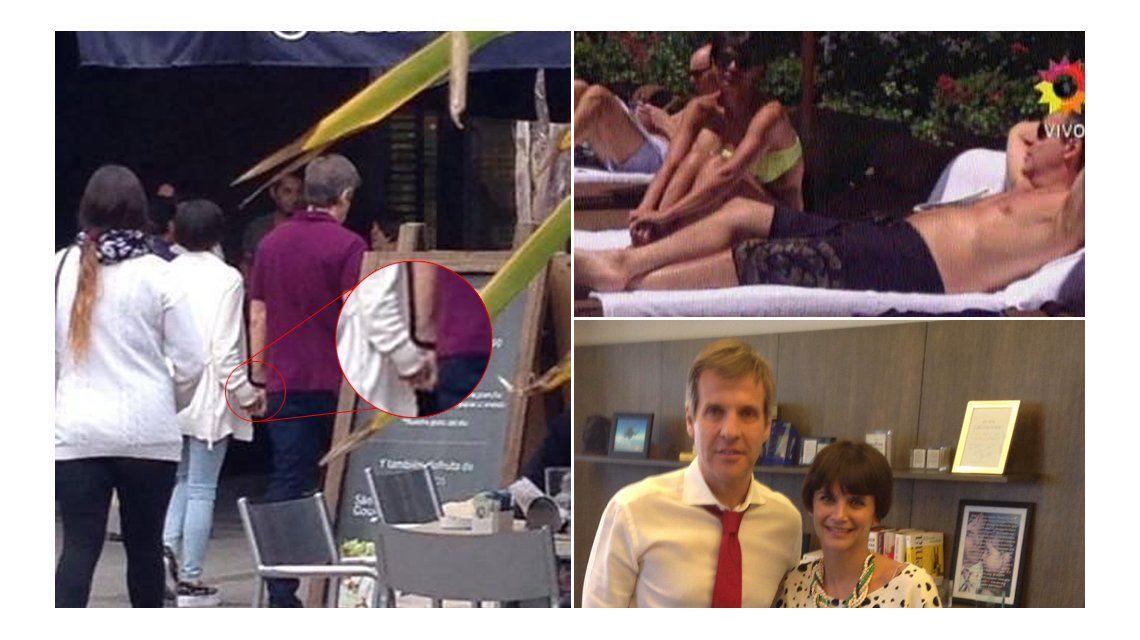 Luciana Salazar tenía razón: Las fotos del romance de Martín Redrado y Amalia Granata