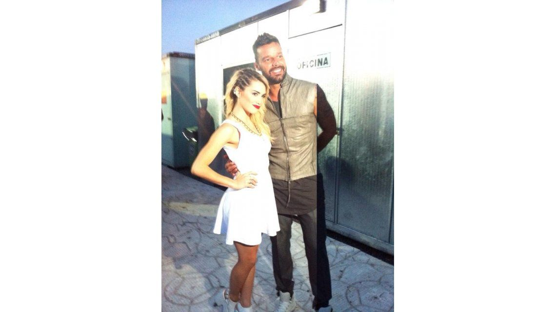 Lali Espósito, cerca de Ricky Martin tras ser telonera de su show: Se viene algo muy lindo