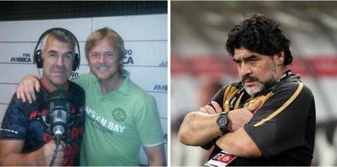 Dady Brieva, irónico con Maradona: Con Jorge Taiana festejamos el cumple de Diego
