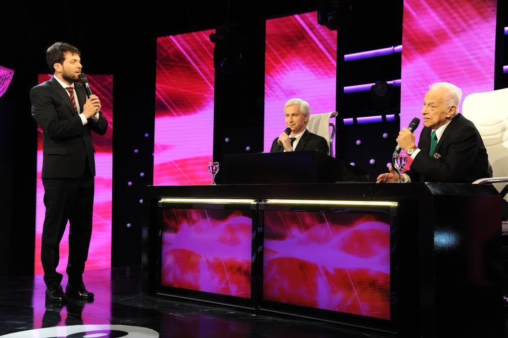 Gerardo Sofovich volvió a la televisión: grabó Los 8 escalones