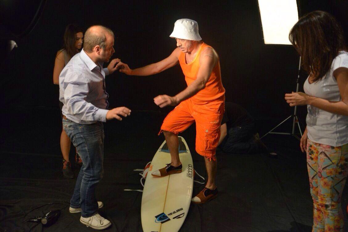 Los Bañeros se preparan para Villa Carlos Paz: el back de la producción de fotos