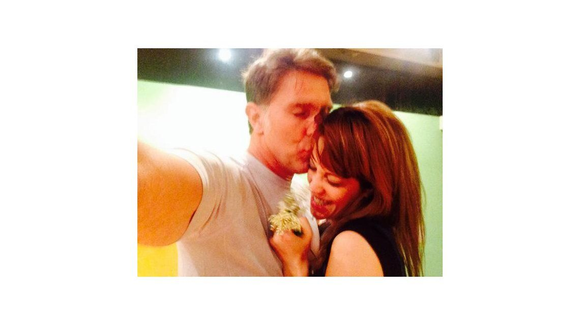 El romántico saludo de Miriam Lanzoni a Alejandro Fantino en su aniversario de casados