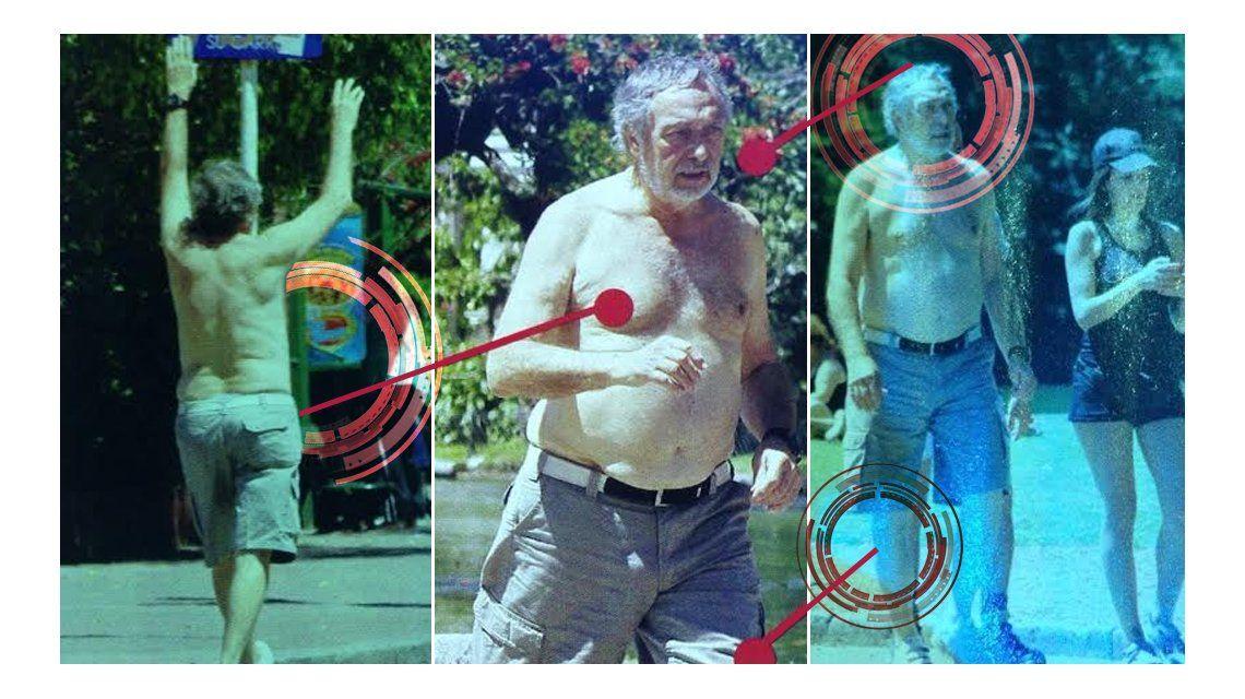 Qué coraje: Luis Brandoni, a los 74 años, sale a correr y busca bajar la panza