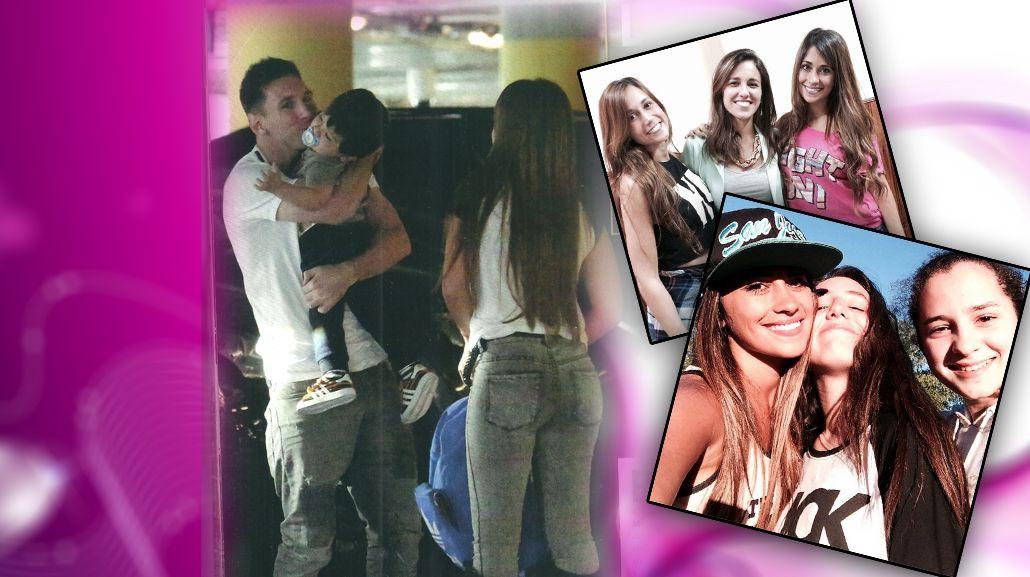 Los días de Antonella Roccuzzo con Thiago en Rosario y el reencuentro con Lionel Messi en Barcelona