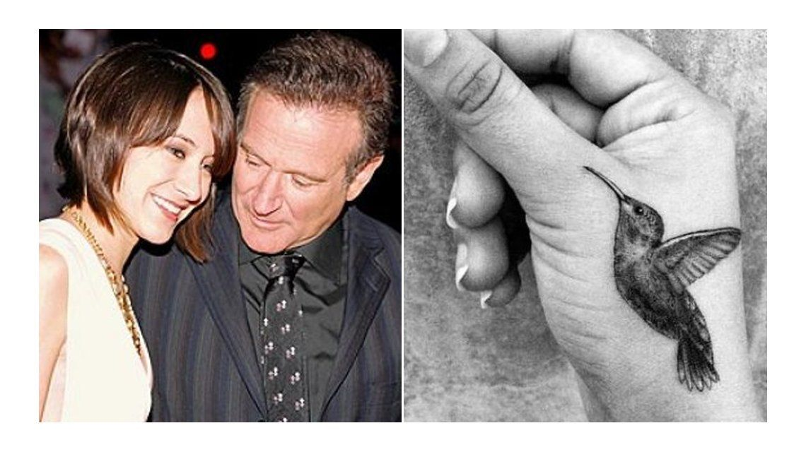 El tatuaje de la hija de Robin Williams en homenaje al actor