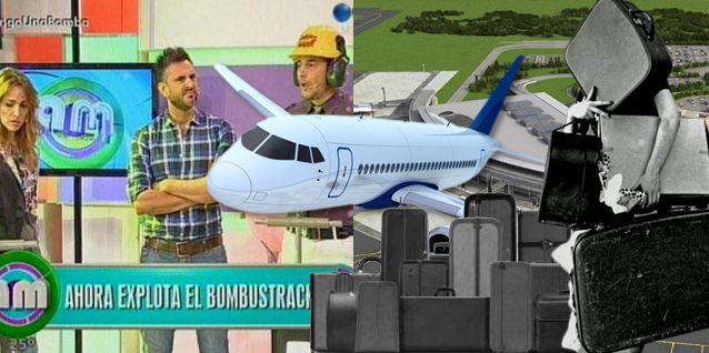 Famosa para la salida de un avión por exceso de equipaje: escándalo y demoras