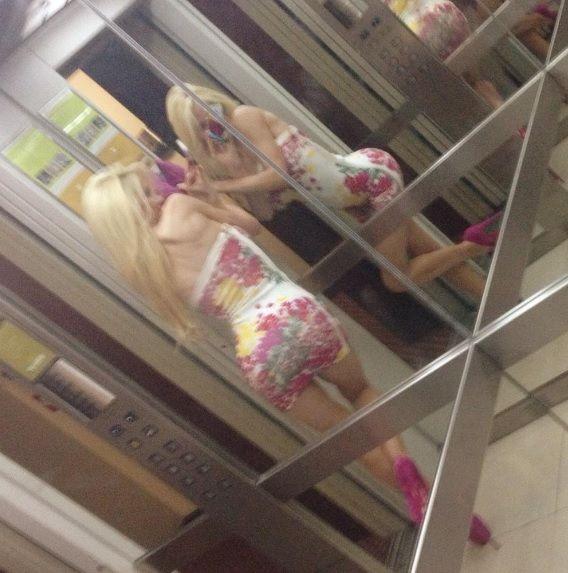 Nuevas imágenes confirman la extrema delgadez de Luciana Salazar