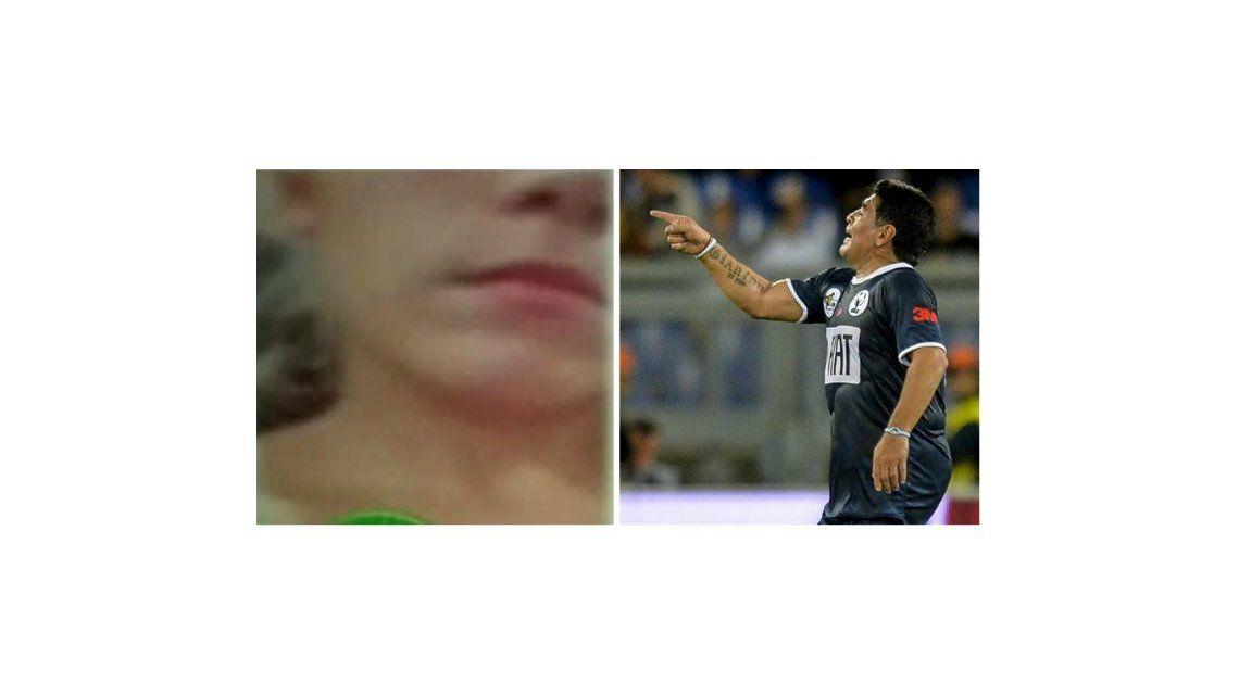 Violencia de género: salió a la luz el video de Diego Maradona pegándole a Rocío Oliva