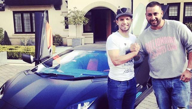 El lujoso auto que se compró el Kun Agüero, valuado en 1,5 millones de dólares