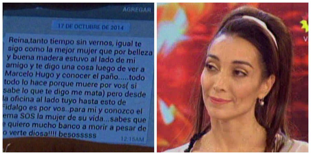 Mora Godoy mostró un mensaje por el romance de Fidalgo y su ex: Muere por vos