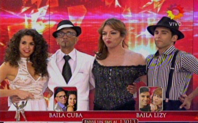 Con el 68,44 por ciento de los votos, Lizy Tagliani eliminó del certamen a El Cuba