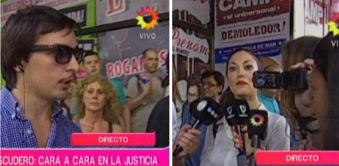 El ridículo cruce entre Silvina Escudero y Martín Amestoy en televisión: Esto es un circo