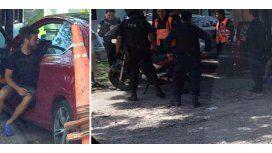 Nicolás Cabré pensó que le querían robar y atropelló a un motociclista: está internado