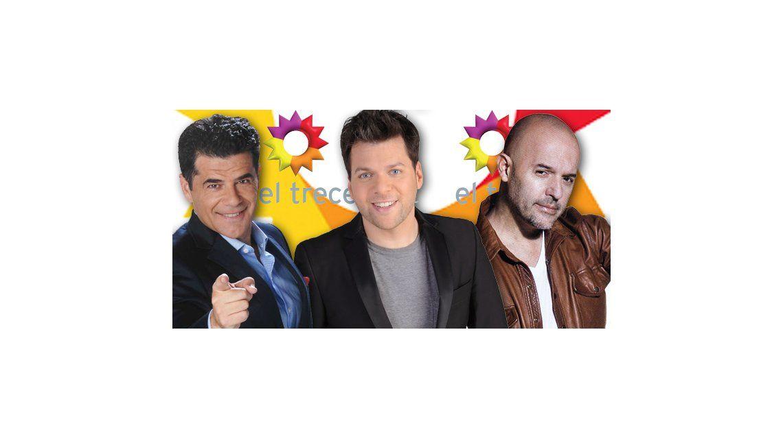 Julián, Guido y el Pelado López, las caras confirmadas para El Trece en el 2015