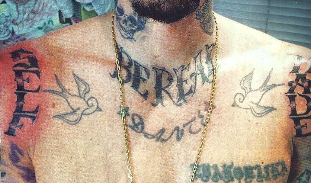 La particular frase que eligió Sebastián Ortega para su nuevo tatuaje