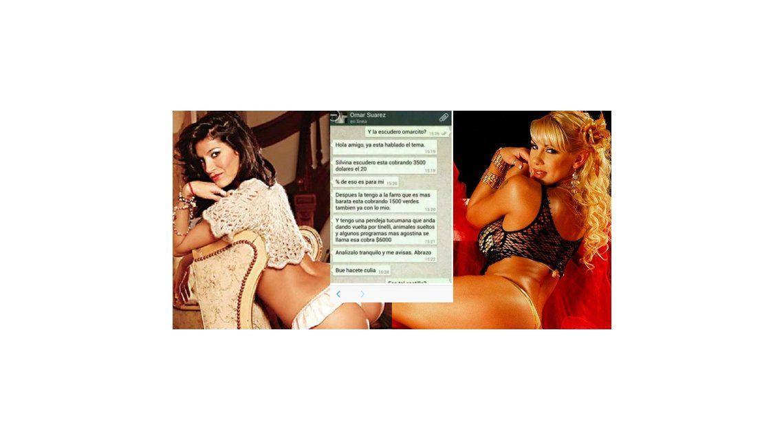 Un nuevo tarifario involucra a Silvina Escudero y Mónica Farro en red de prostitución VIP