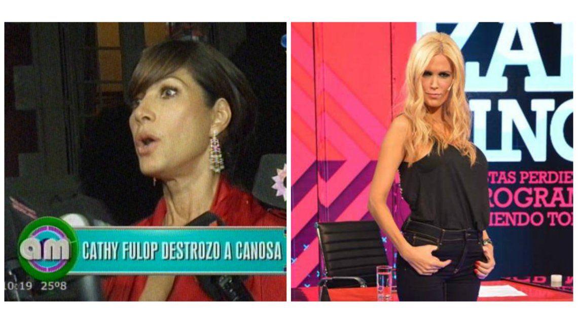 Catherine Fulop mató a Viviana Canosa tras su debut: Muy chupamedias de Rial