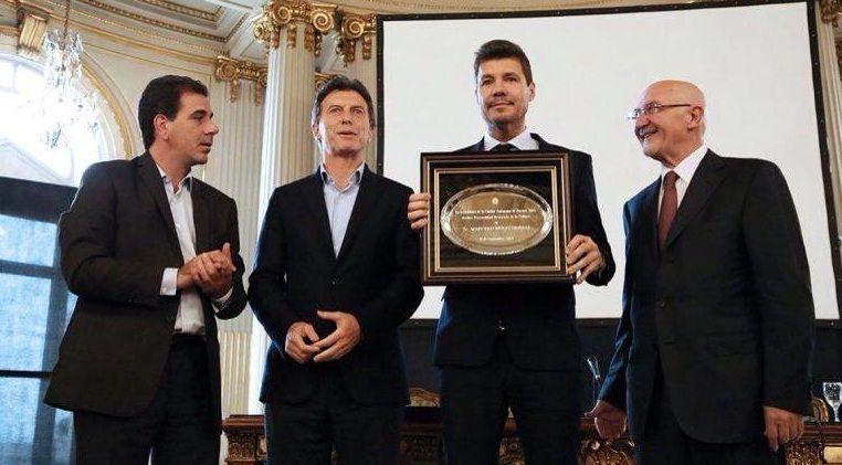 Marcelo Tinelli, personalidad destacada de la cultura: Es un día maravilloso en mi vida