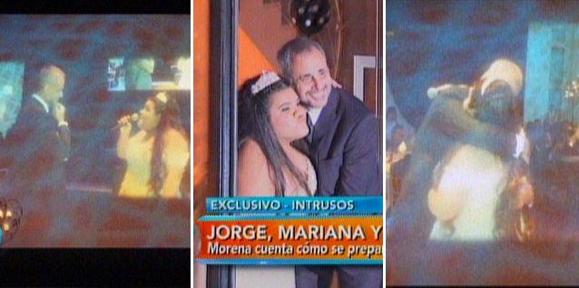 La intimidad de la fiesta de 15 de Morena: le cantó Juntos a la par a Jorge Rial
