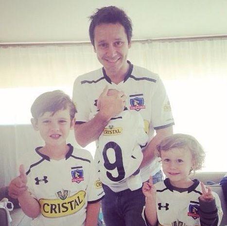 Benjamín Vicuña presentó a su hijo Benicio