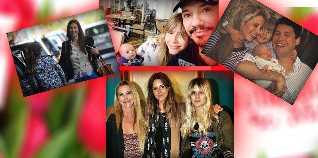 Tinelli saludó a las madres de su vida: la suya, a Sole, Paula y Guille Valdes