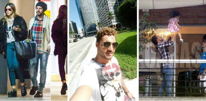 El encuentro romántico de la China Suárez y David Bisbal en Miami con Rufina de testigo