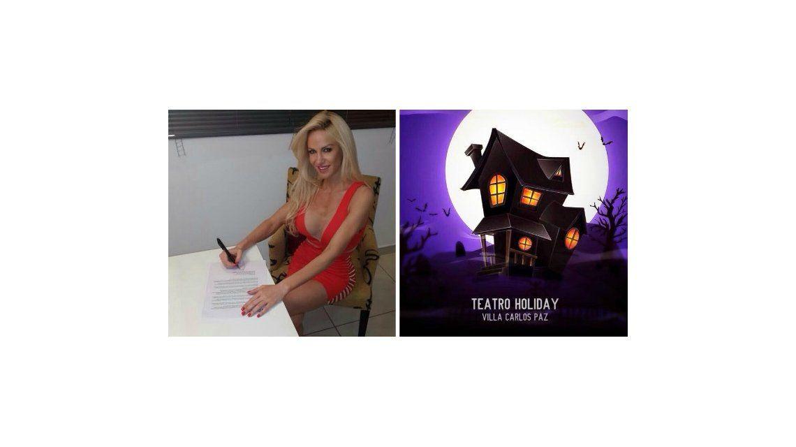 Luciana Salazar protagonizará Casa fantasma con Pedro Alfonso y Fredy Villarreal