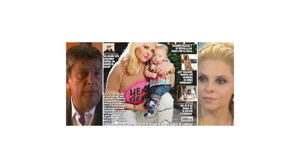 Esta fue la tapa que desató la guerra entre Luis Ventura y Fabiana Liuzzi