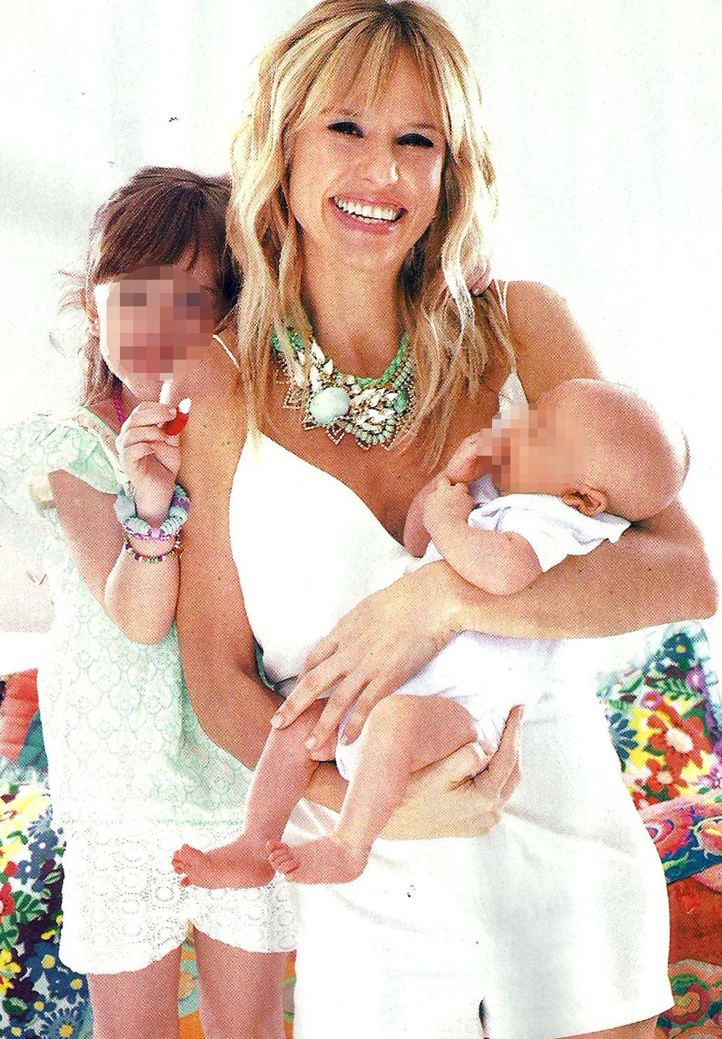 Mariana Fabbiani y sus hijos: Matilda cambió mi vida y Máximo la completó