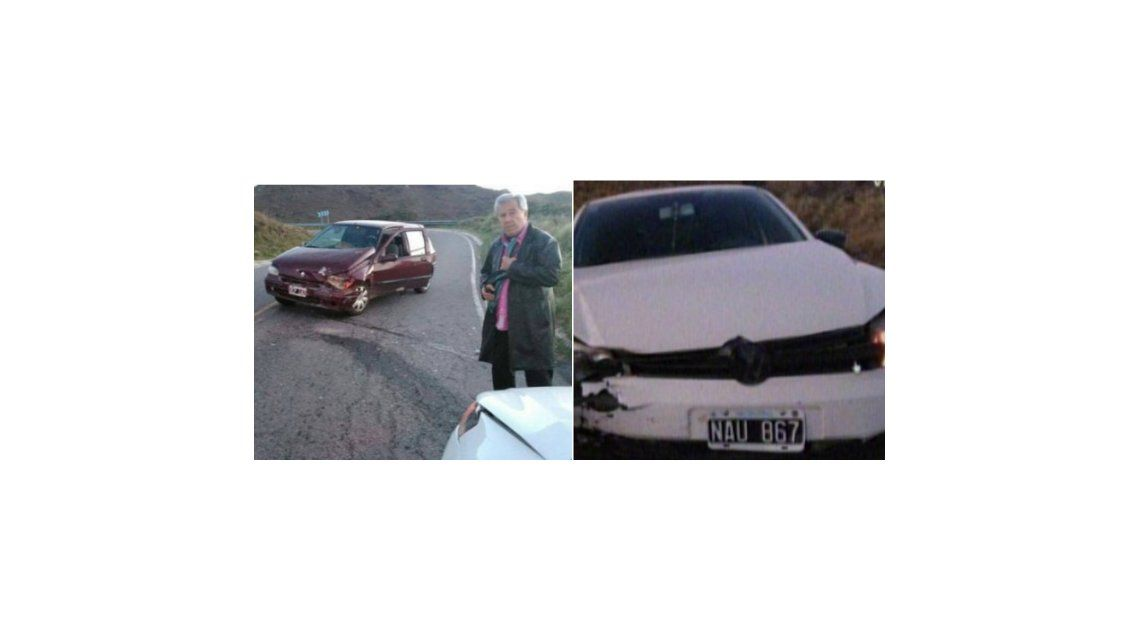 Juan Alberto Mateyko tuvo un accidente automovilístico: Vimos la muerte