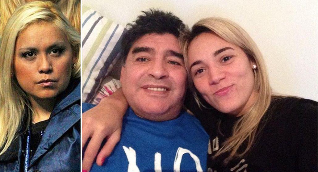 Mientras Diego Maradona está de luna de miel con Rocío Oliva, Verónica Ojeda contraataca desde Dubai