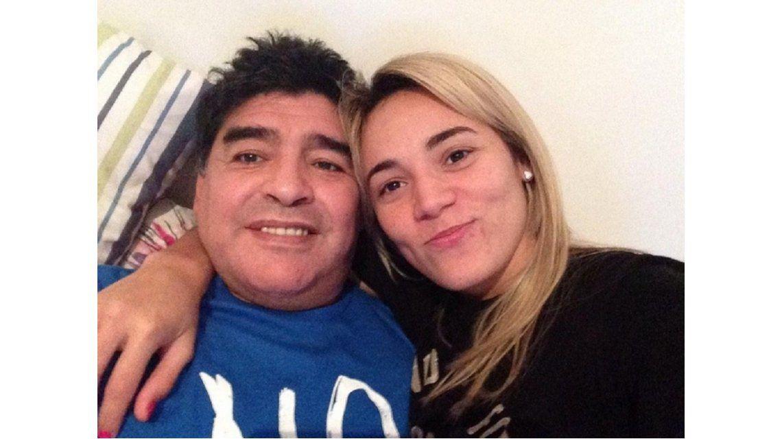 Se casan Maradona y Rocío Oliva: los preparativos para la boda