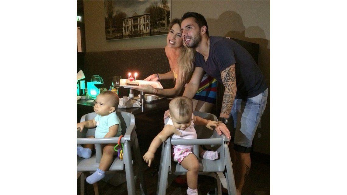 El cumpleaños en familia de Cinthia Fernández: Son los regalos más valiosos