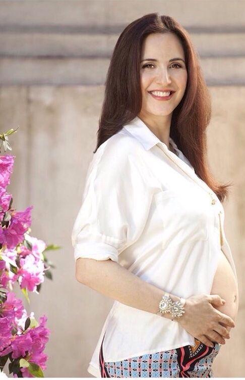 La producción de fotos de Julieta Díaz: futura mamá y con hermosa panza